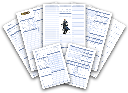 picture regarding Pathfinder Character Sheet Printable named Dyslexic Personality Sheets