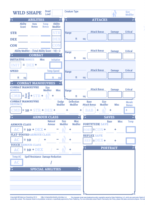 picture regarding Pathfinder Gm Screen Printable referred to as Dyslexic Persona Sheets